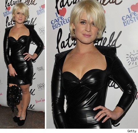 Kelly Osbourne as a blonde