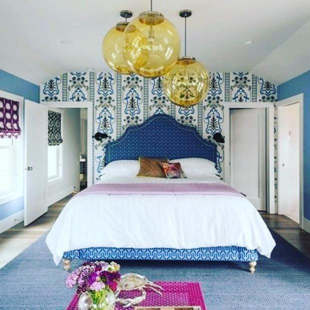 Loving our Navy Kuba Pondicherry Bed featured in the Togadera house in @seabrookwa designed by @thenovogratz #designerseries #thenovogratz #serenaandlily