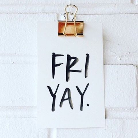 Happy almost weekend. #friyay #iamwellandgood